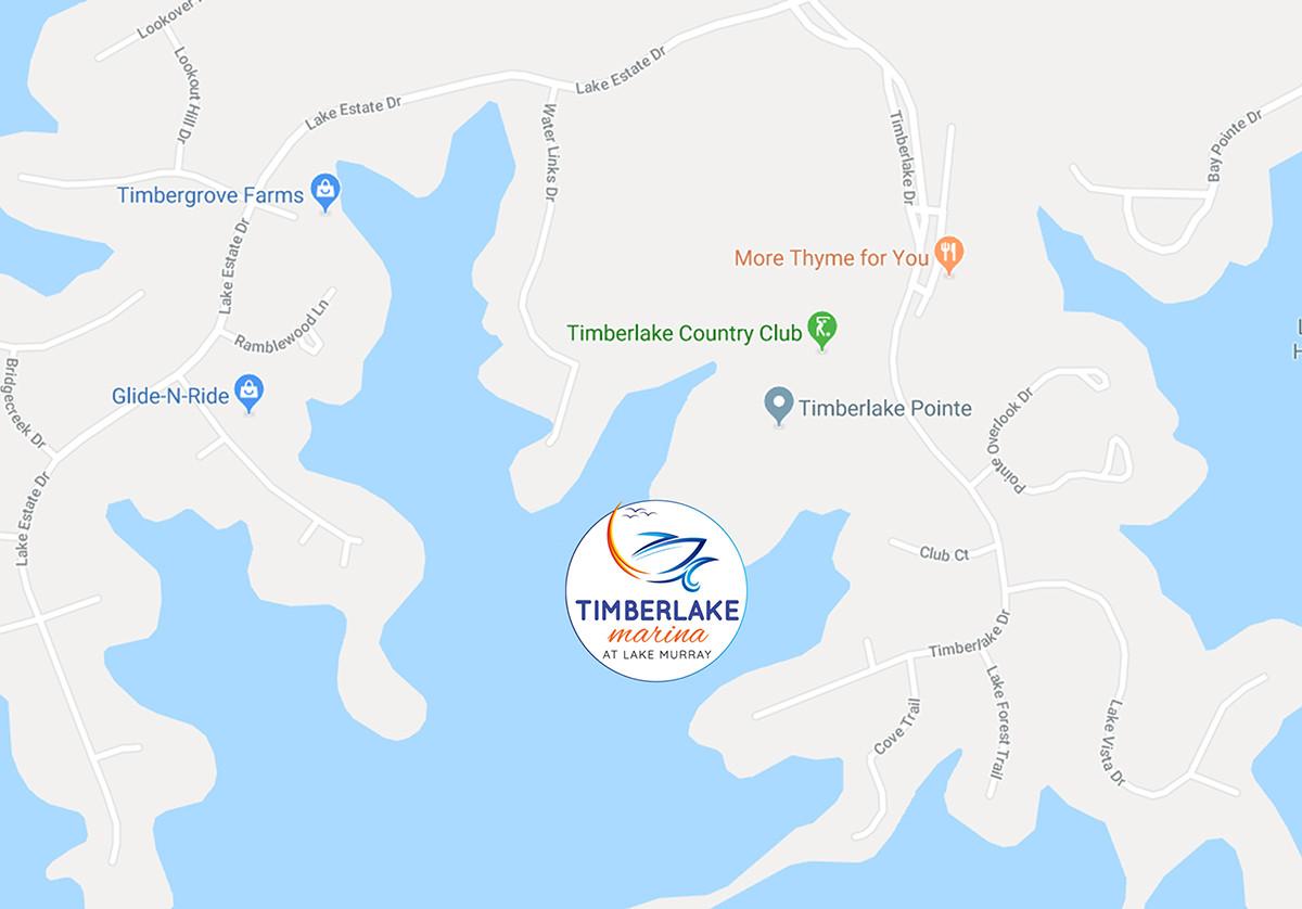 Timberlake-Marina-Map